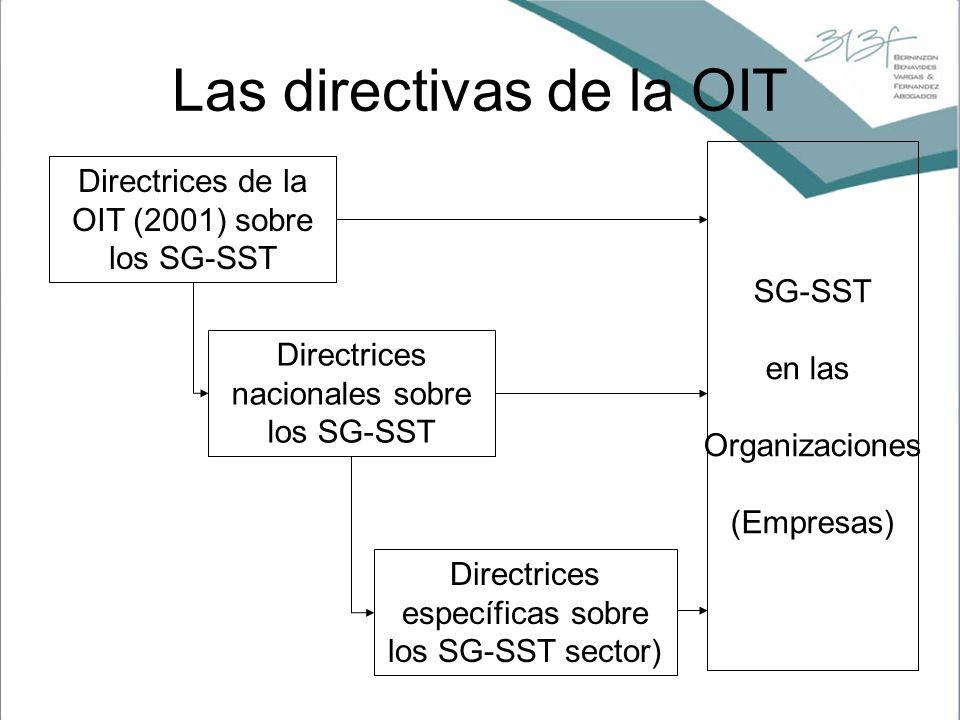 Las directivas de la OIT