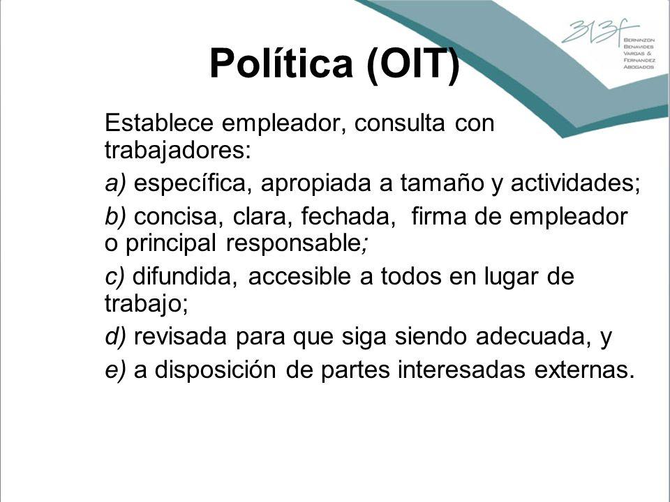 Política (OIT)