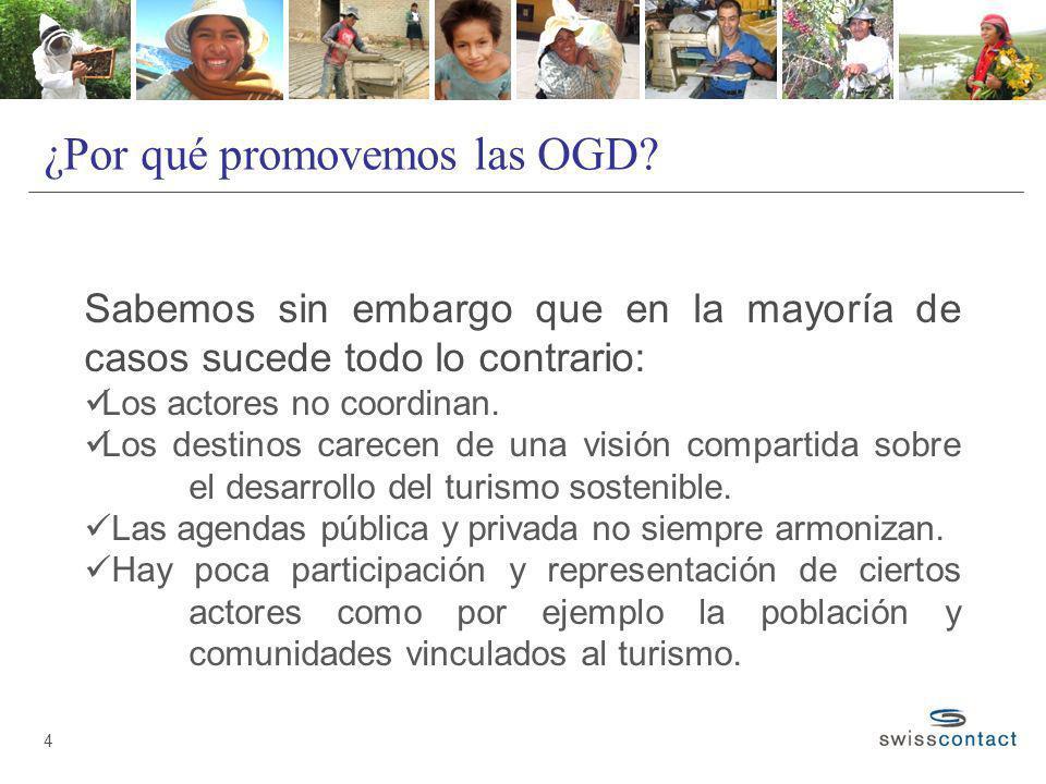 ¿Por qué promovemos las OGD