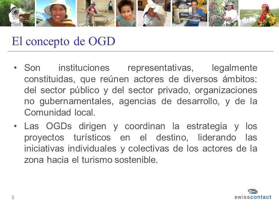 El concepto de OGD