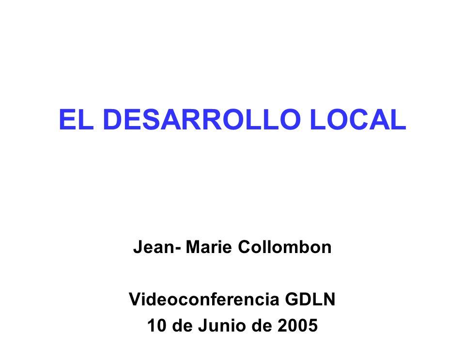 Jean- Marie Collombon Videoconferencia GDLN 10 de Junio de 2005