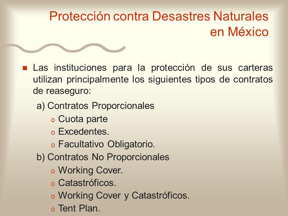 Protección contra Desastres Naturales en México
