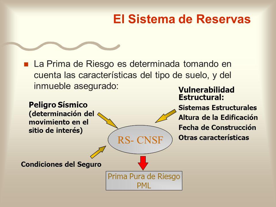 El Sistema de Reservas RS- CNSF