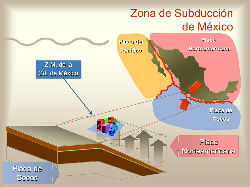 Zona de Subducción de México