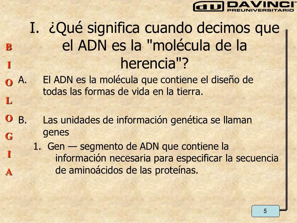 Biolog a molecular del gen ppt video online descargar for Que significa molecula