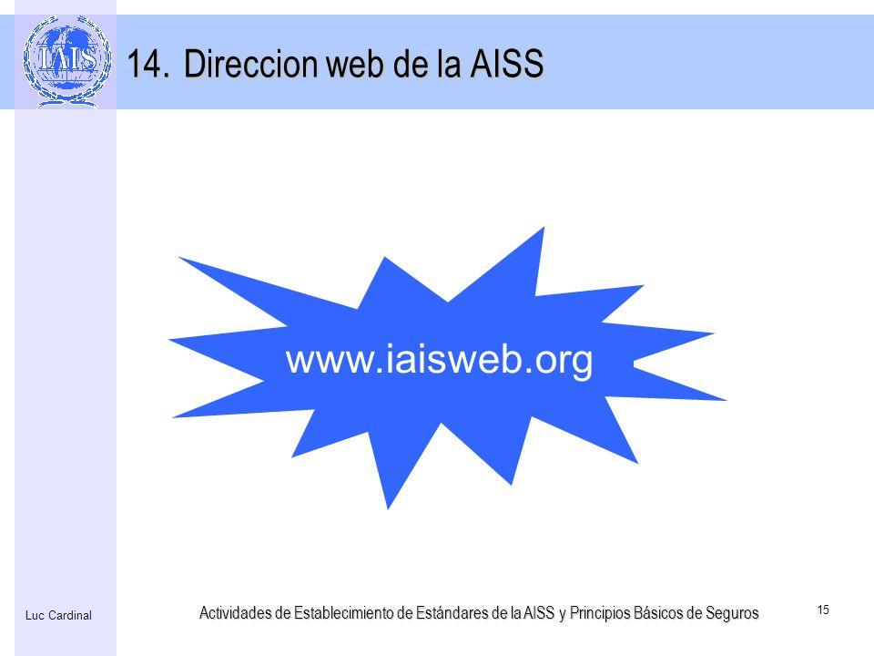 Direccion web de la AISS