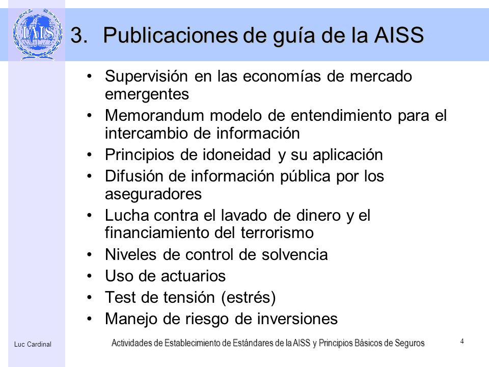 Publicaciones de guía de la AISS