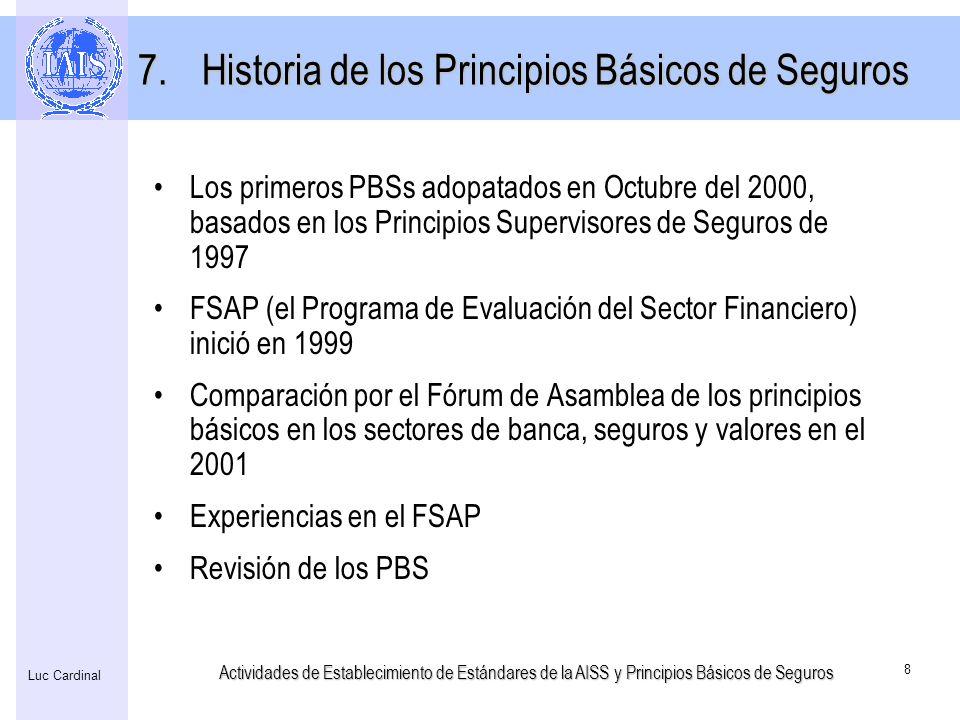 Historia de los Principios Básicos de Seguros