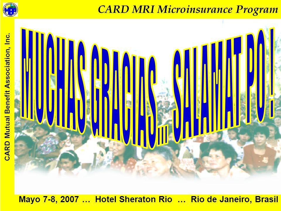 Mayo 7-8, 2007 … Hotel Sheraton Rio … Rio de Janeiro, Brasil