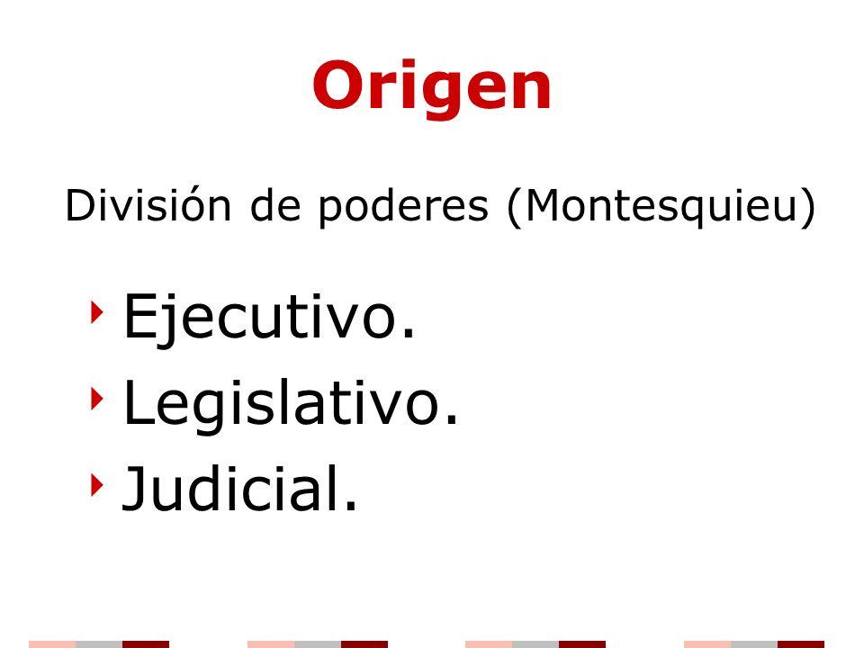 División de poderes (Montesquieu)