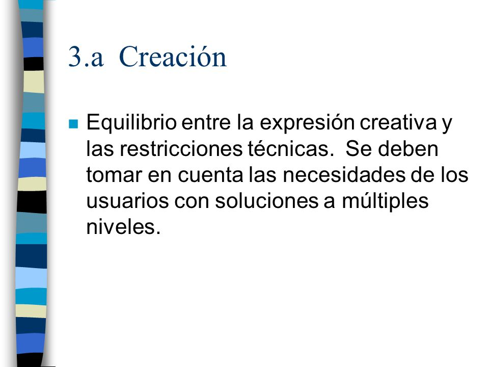 3.a Creación