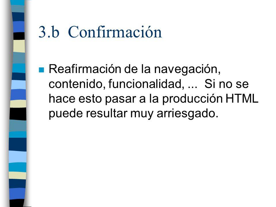 3.b Confirmación