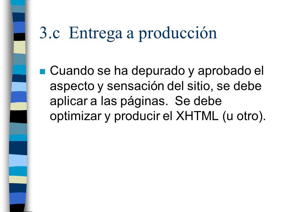 3.c Entrega a producción