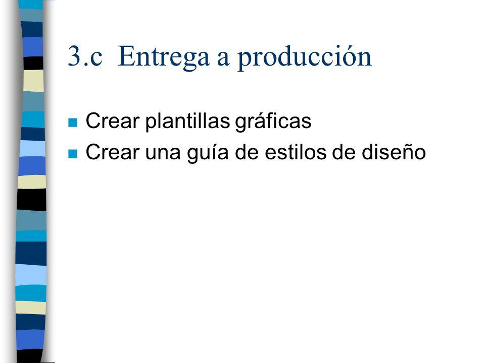 3.c Entrega a producción Crear plantillas gráficas