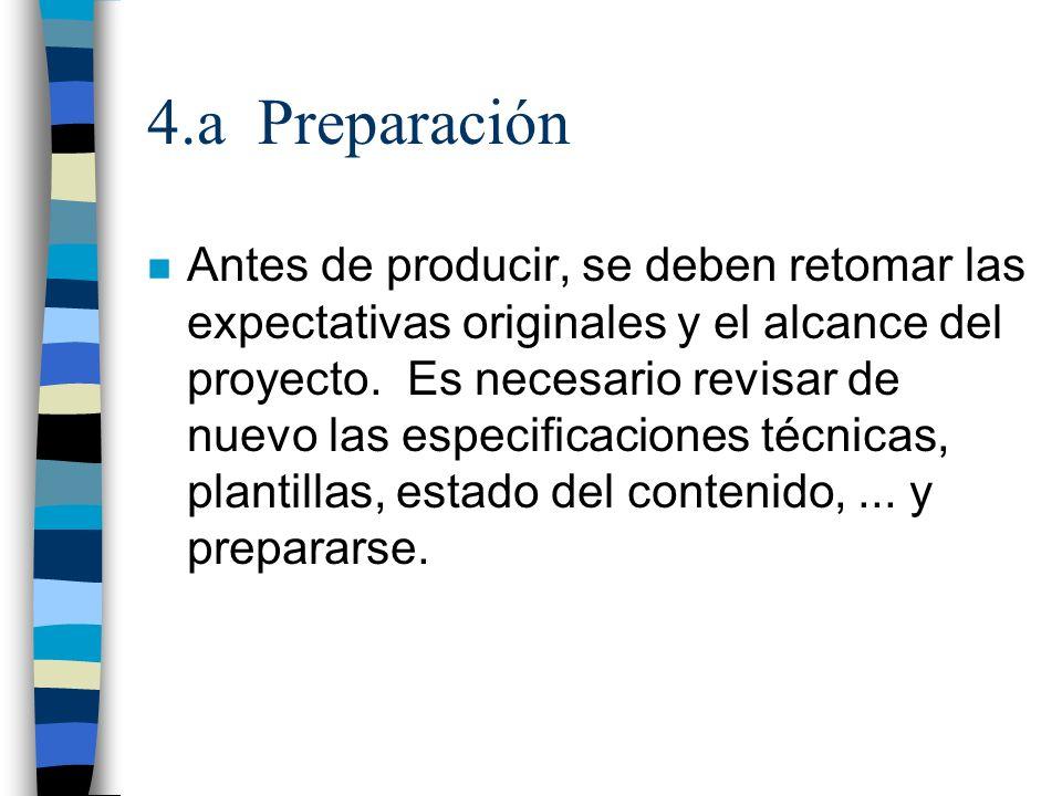 4.a Preparación