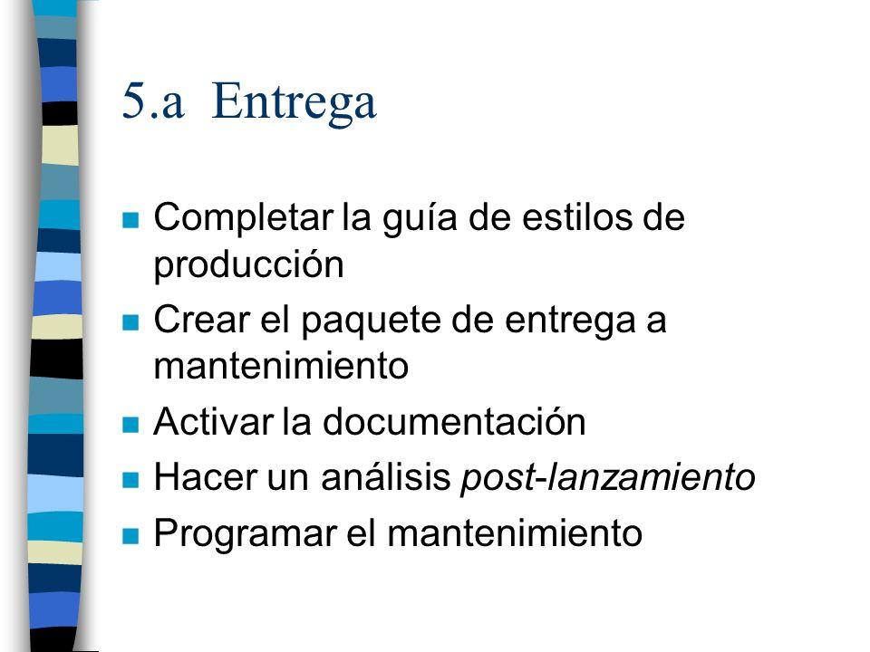 5.a Entrega Completar la guía de estilos de producción