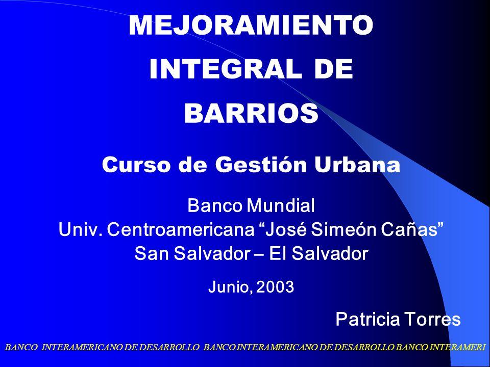 Univ. Centroamericana José Simeón Cañas San Salvador – El Salvador