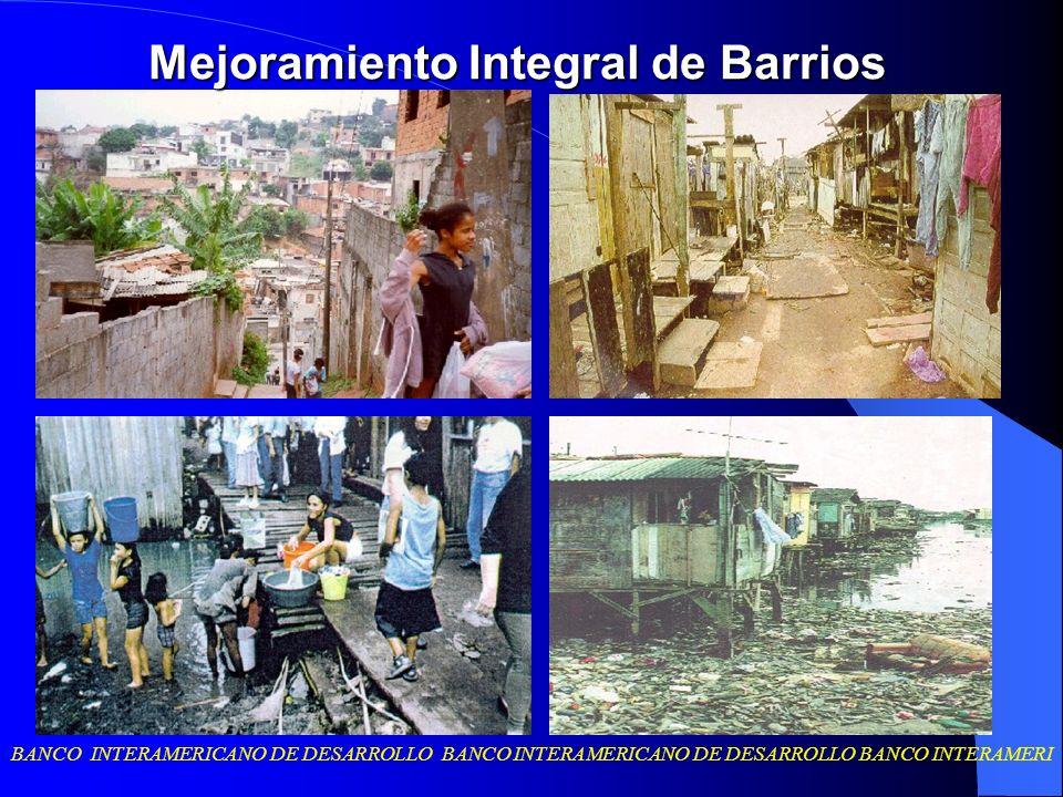 Mejoramiento Integral de Barrios