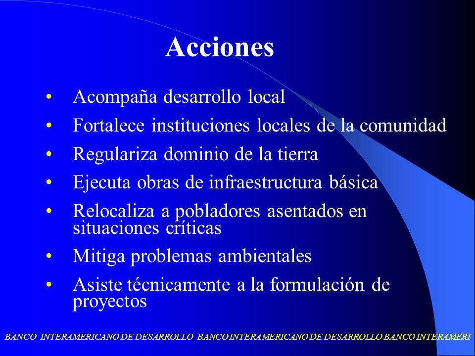 Acciones Acompaña desarrollo local