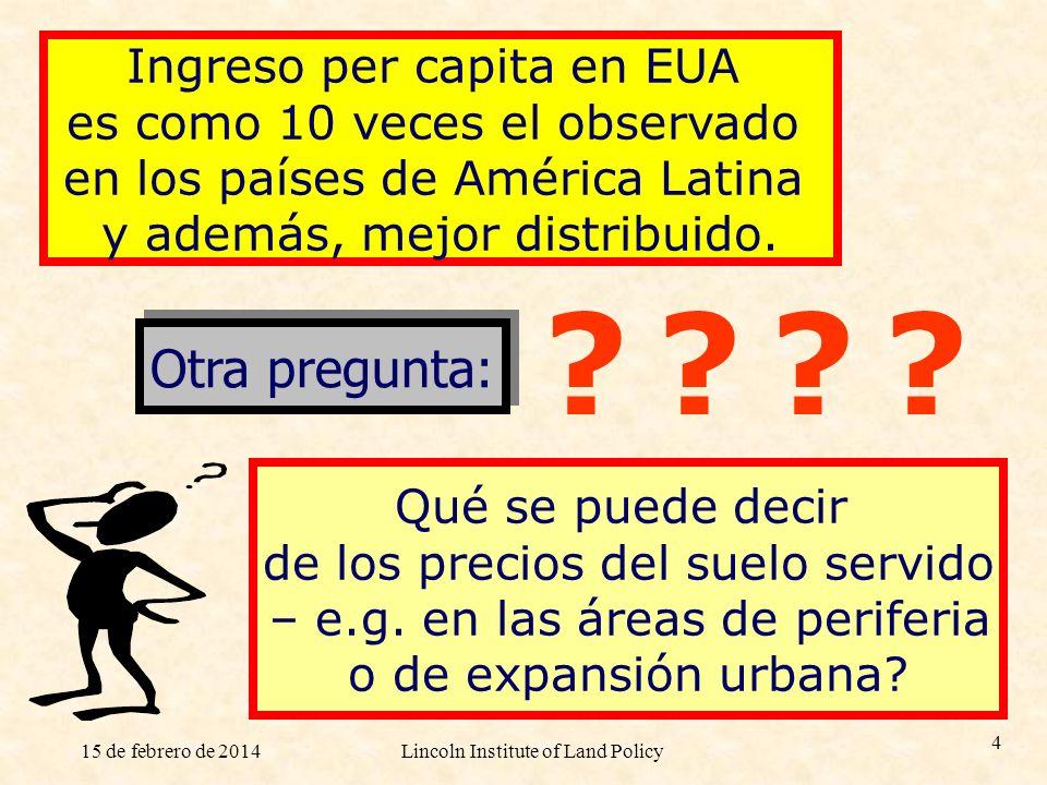 Otra pregunta: Ingreso per capita en EUA