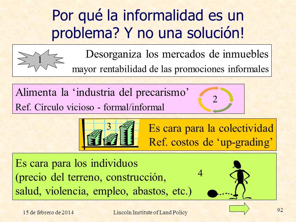 Por qué la informalidad es un problema Y no una solución!