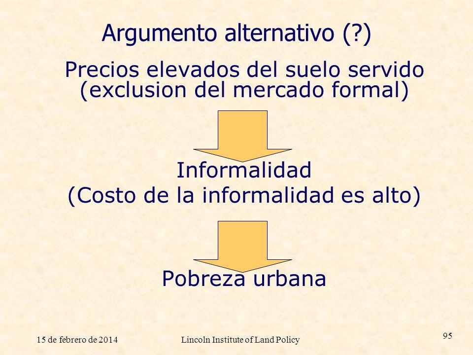 Argumento alternativo ( )