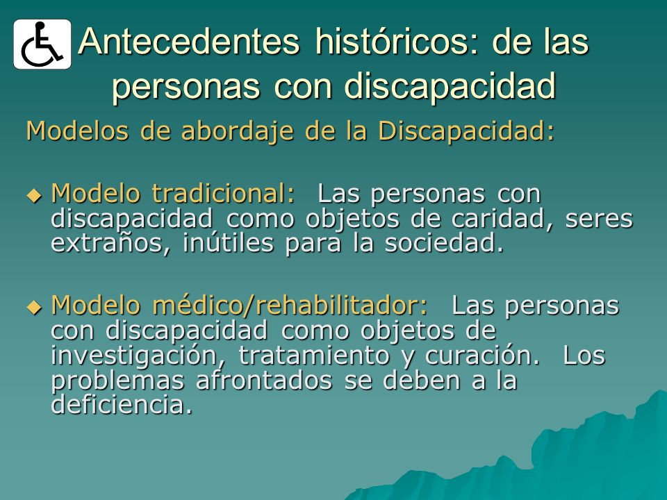 Antecedentes históricos: de las personas con discapacidad