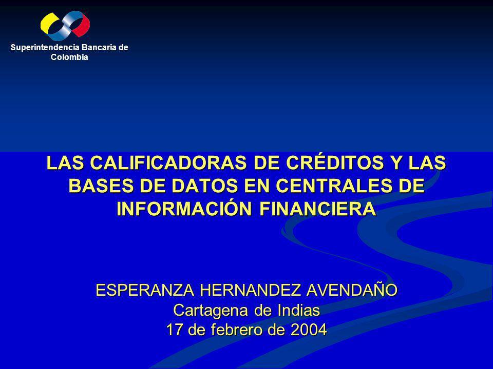 ESPERANZA HERNANDEZ AVENDAÑO Cartagena de Indias 17 de febrero de 2004