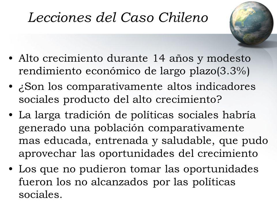 Lecciones del Caso Chileno