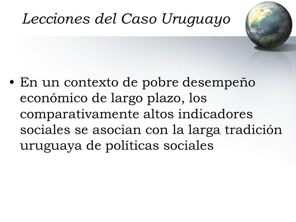 Lecciones del Caso Uruguayo
