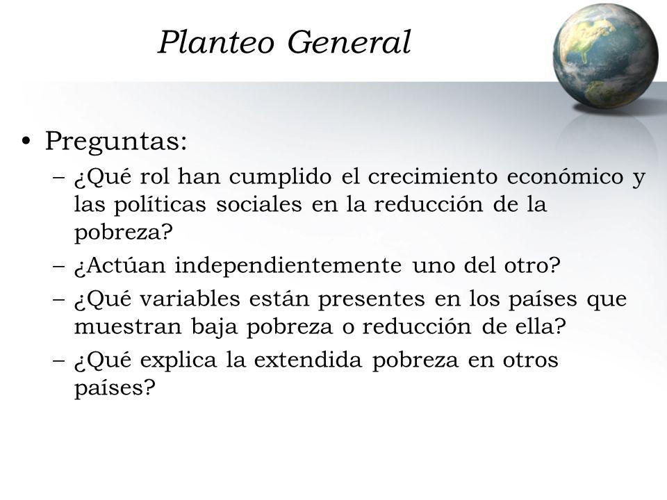 Planteo General Preguntas:
