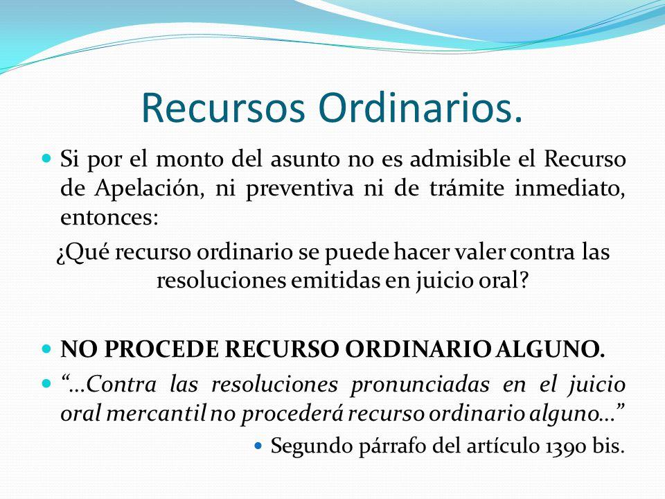 El juicio oral mercantil ppt descargar 5 recursos ordinarios ccuart Choice Image