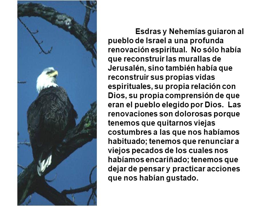 Esdras y Nehemías guiaron al pueblo de Israel a una profunda renovación espiritual.