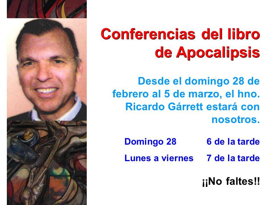 Conferencias del libro de Apocalipsis