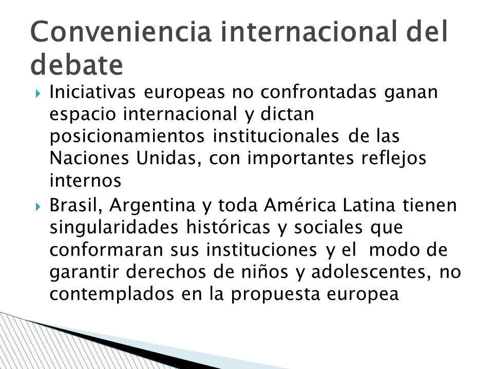 Conveniencia internacional del debate