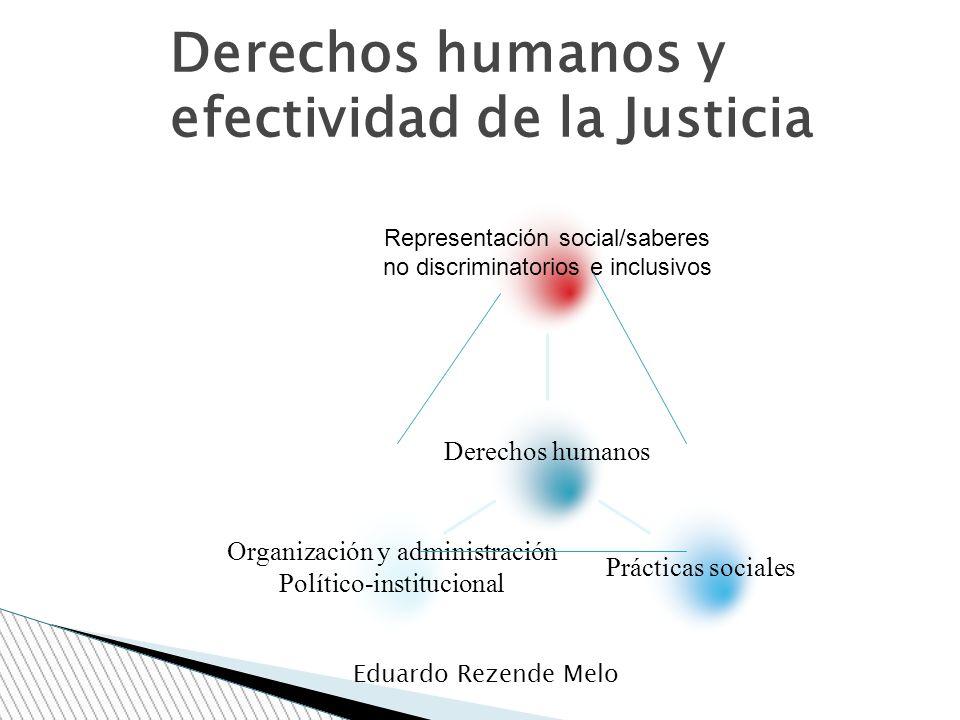 Derechos humanos y efectividad de la Justicia