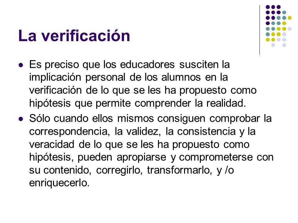 La verificación