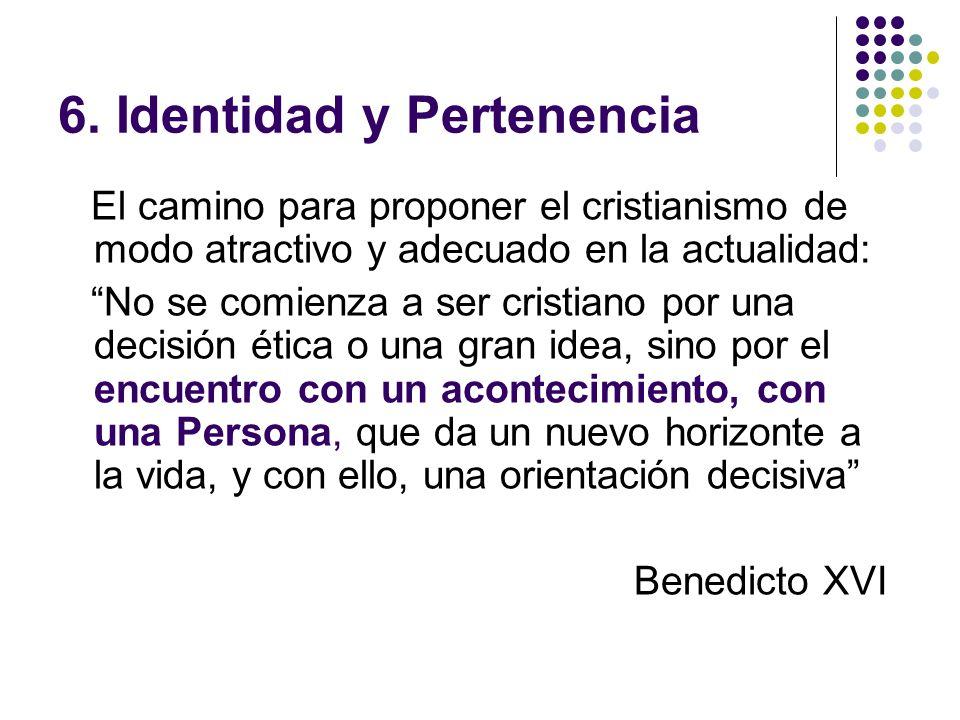 6. Identidad y Pertenencia
