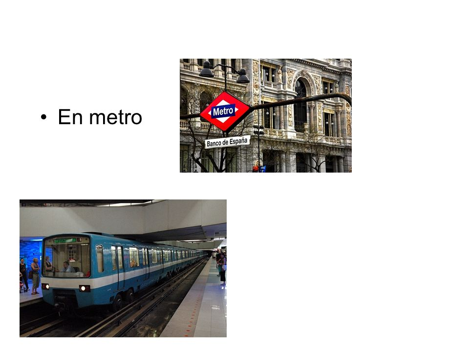 En metro