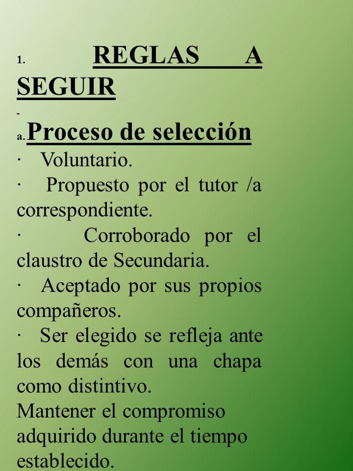 · Propuesto por el tutor /a correspondiente.