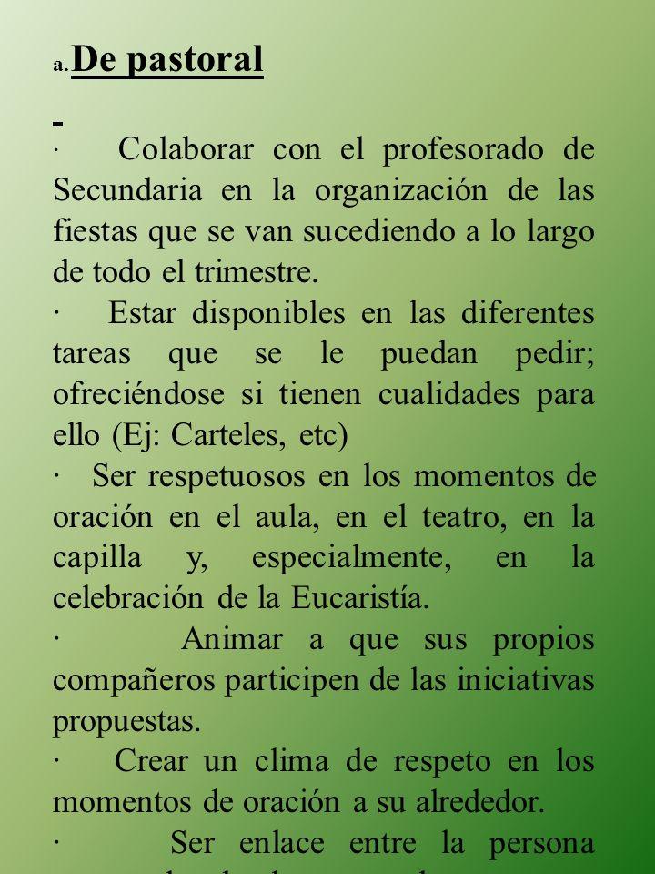 a. De pastoral