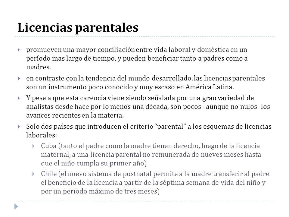 Licencias parentales