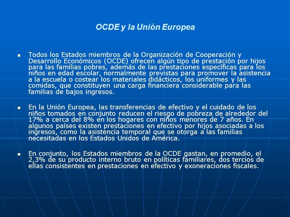 OCDE y la Unión Europea