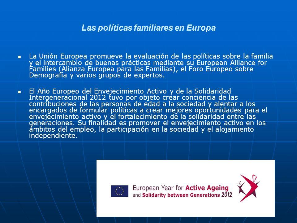 Las políticas familiares en Europa