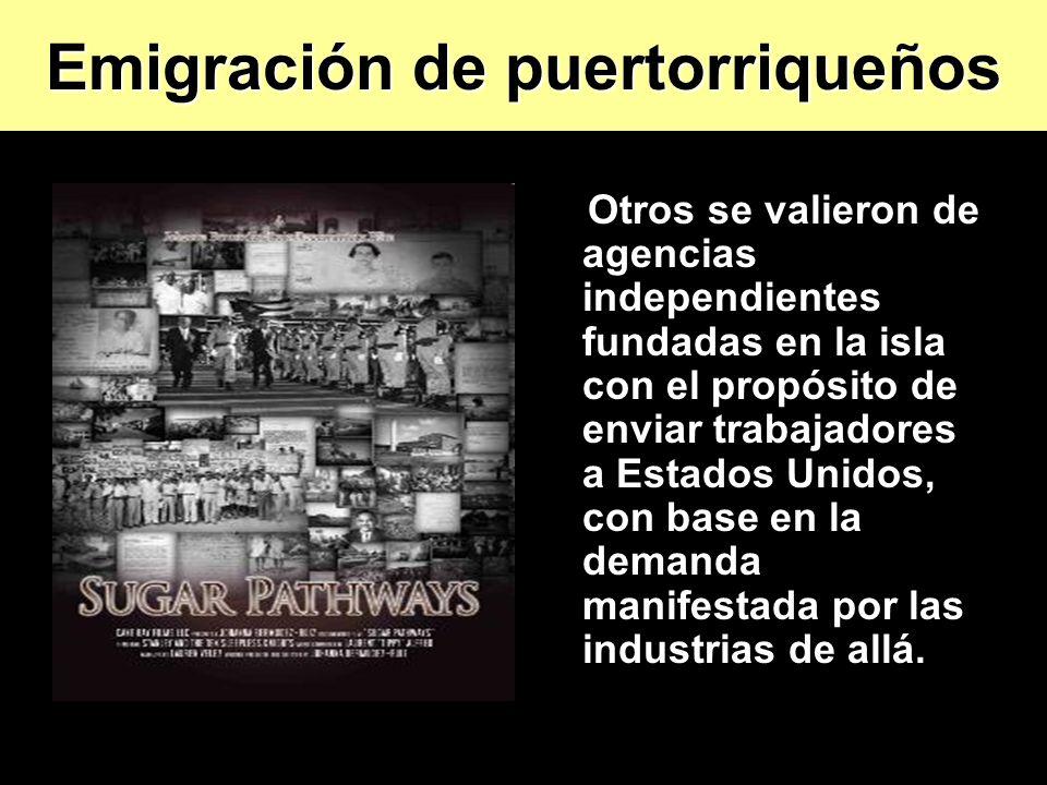 Emigración de puertorriqueños