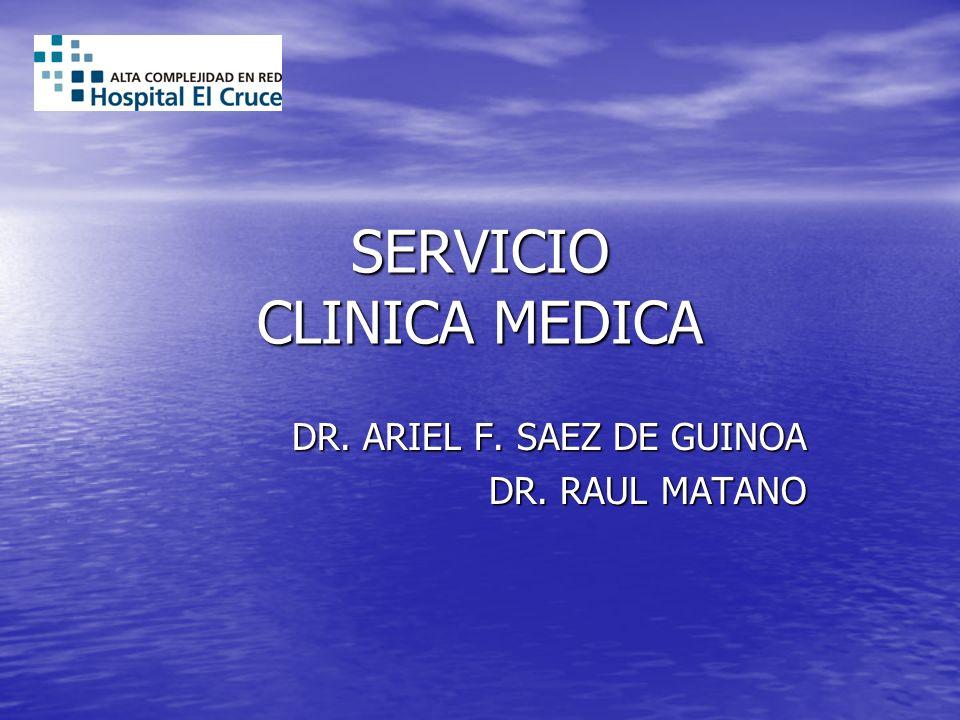 SERVICIO CLINICA MEDICA