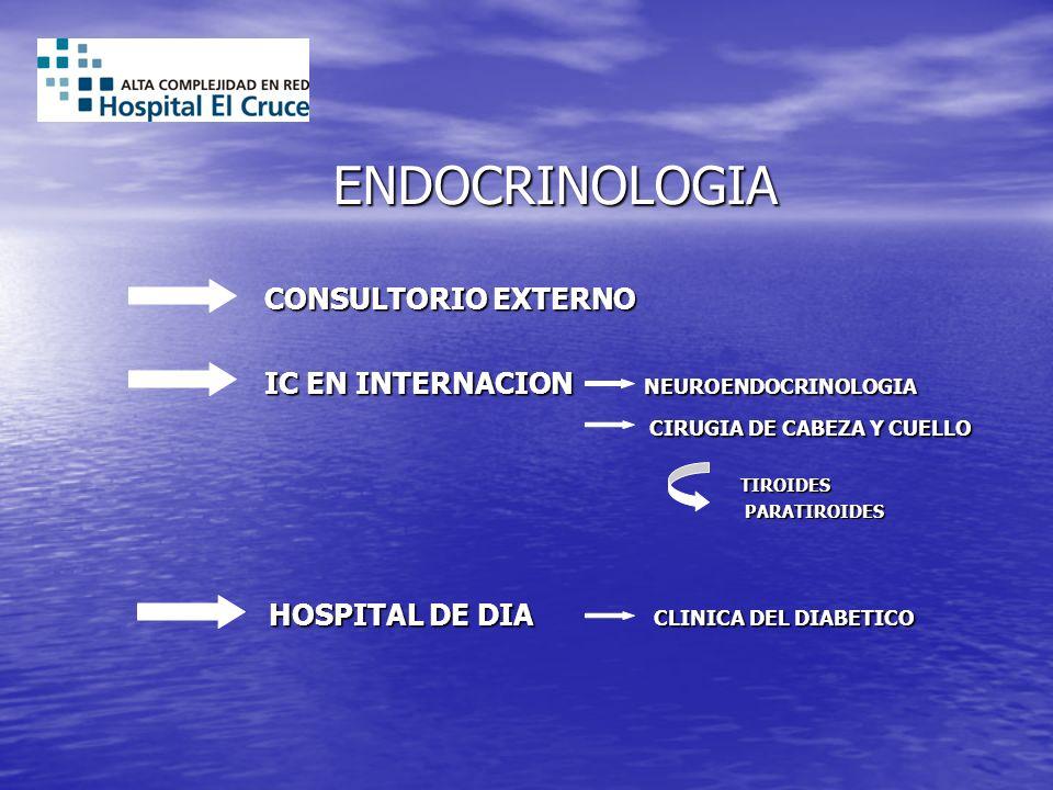 ENDOCRINOLOGIA CONSULTORIO EXTERNO