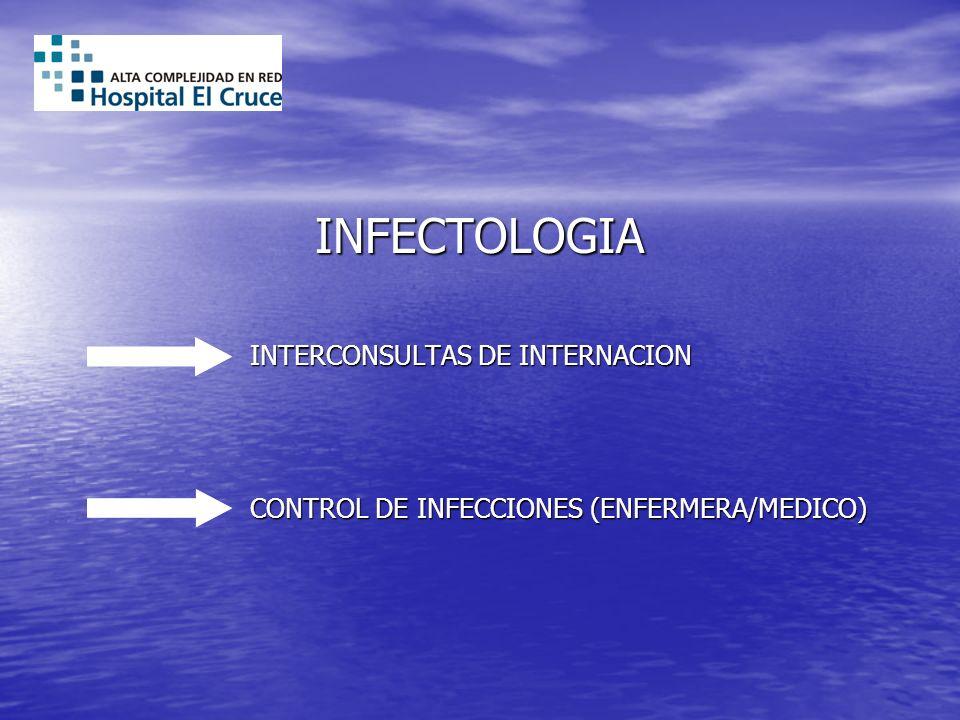 INFECTOLOGIA INTERCONSULTAS DE INTERNACION