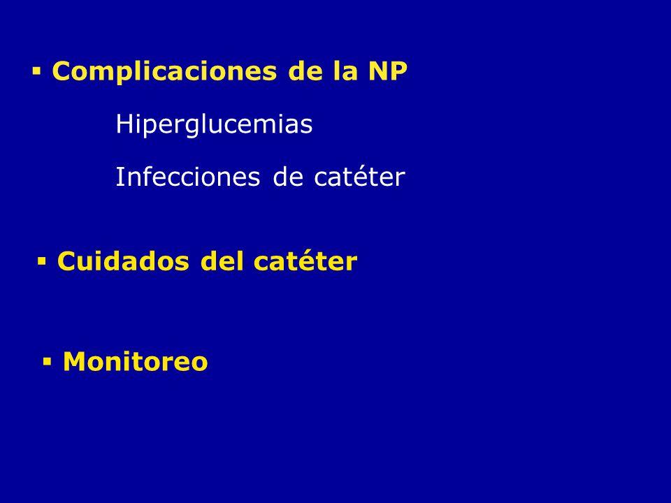 Complicaciones de la NP