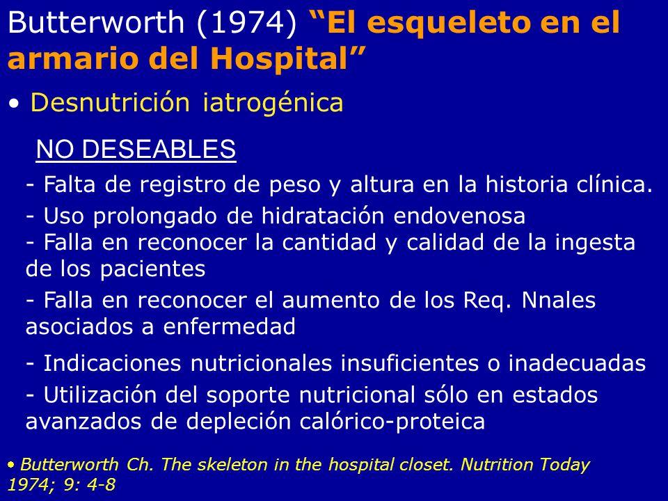Butterworth (1974) El esqueleto en el armario del Hospital